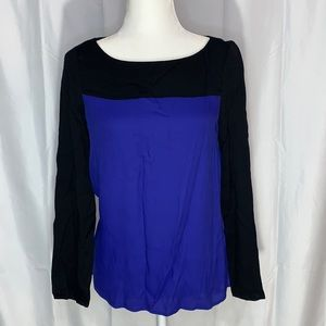 Joie Aliso Color Block Top Size Small